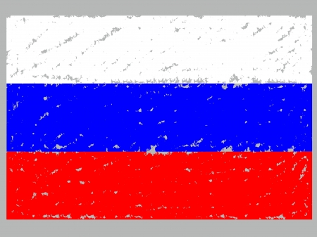 festival scales: Russia  grunge  flag artwork isolated