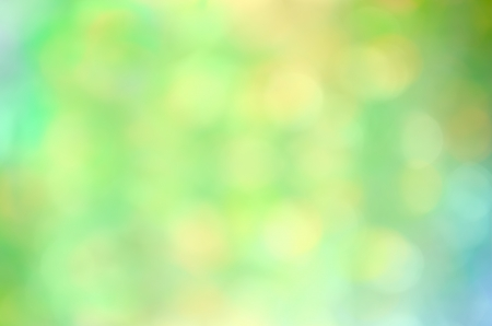 green blue and yellow abstract defocused background Stock Photo - 13911702