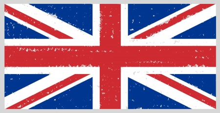 england grunge flag hand drawing isolated Stock Photo - 13911701