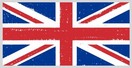 england grunge flag hand drawing isolated Stock Photo - 13911701