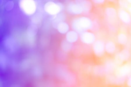 purple, blue and pink pastel colorful background bokeh blurred lights background Stock Photo