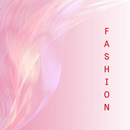 Fashion wording  with pink line attractive background photo