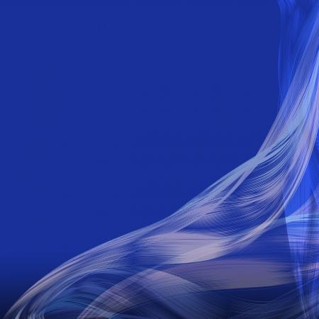 Blue lines flowing stylish background  photo