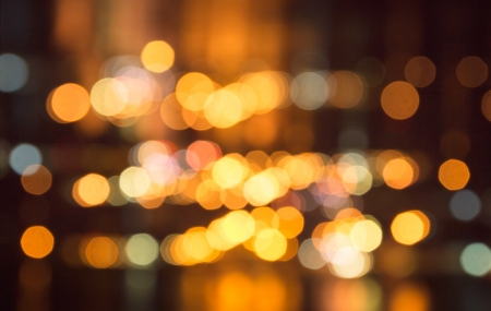 Multicolored defocused bokeh lights background Stock Photo - 16657863