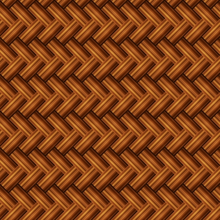 bamboo mat: Abstract Seamless Brown Bamboo Mat Texture Illustration