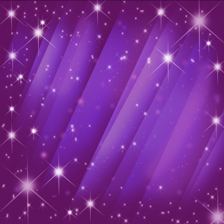 Stars brust  on  motion pink blur ray abstract background  photo