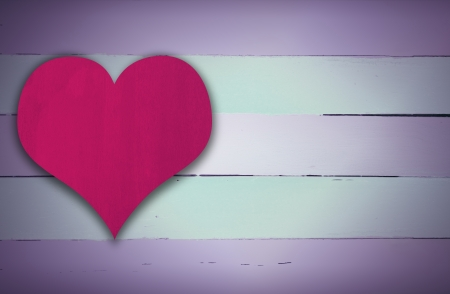 Blue and pink retro wooden panel background Stock Photo - 24642238