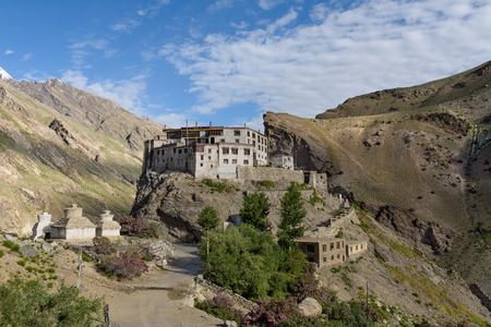 gompa: Bardan Monastery or Bardan Gompa is a 17th-century Buddhist monastery, Padum, in Zanskar, Ladakh, northern India