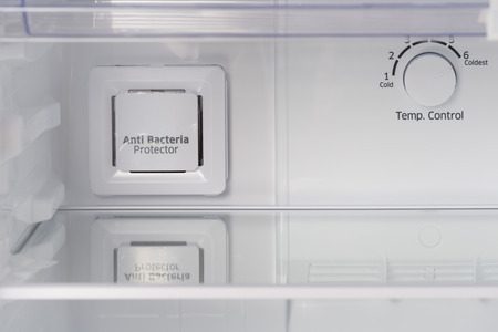 refrigerator: Temperature control icon in  refrigerator