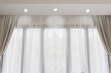 Cortinas Blancas Modernas. Top Cortinas Blancas Y Negras With ...