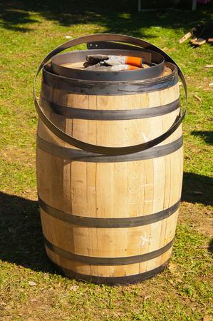 new whiskey barrel