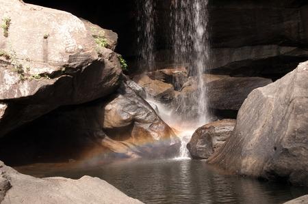 eagle falls: Rainbow at Eagle Falls