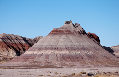 mesas: Colorful mesas in the painted desert of Arizona. Stock Photo