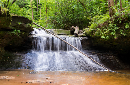 schöpfung: Creation Falls in Red River Gorge State Park.