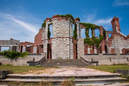 Dungeness ruins at Cumberland Island National Seashore