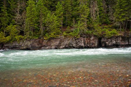 McDonald Creek in Glacier National Park.