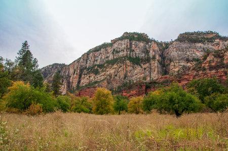 Fall in upper Oak Creek Canyon near Sedona, Arizona.