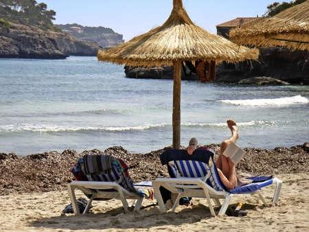 brolly: Playa en Mallorca (Islas Baleares - Espa�a)