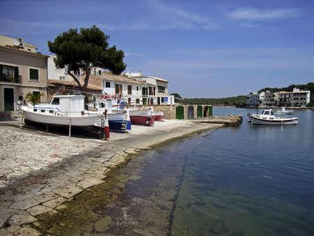 porto: Porto Petro dock (Majorca - Spain)
