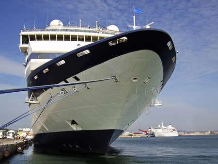 Ship cruises in port of Palma of Majorca Stock Photo - 2703158