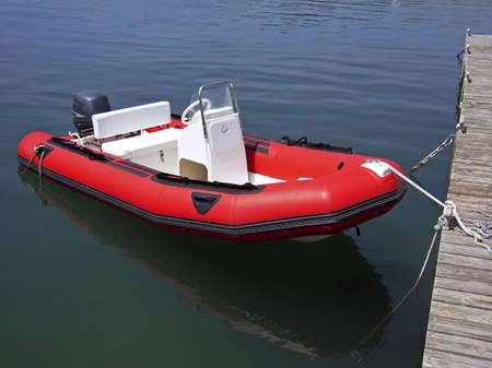 starr: Aufblasbare Boote Lizenzfreie Bilder