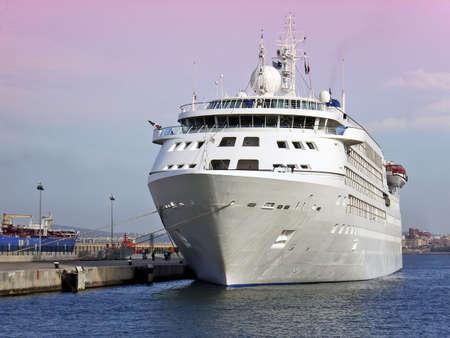 cruiseship: Cruiseship en Palma de Mallorca