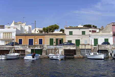 colom: Porto Colom village in Mallorca (Spain)
