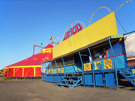 Big Traveling Circus in Spain                                                               photo