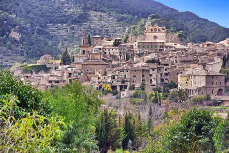 picturesque: Picturesque town of Valldemossa in Majorca (Spain)