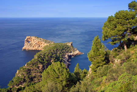Na Foradada peninsula in the islands of Majorca (Spain) photo
