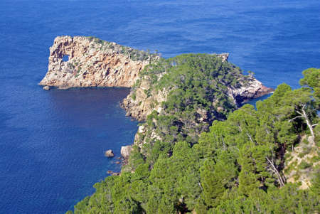 Na Foradada peninsula in the island of Majorca (Spain) photo