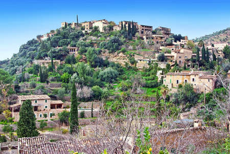 Picturesque Village of Deia in teh island of Majorca (Spain) photo