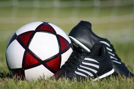 Soccer equipment Stock Photo - 449912