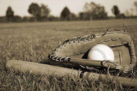 Baseball Equipment Stock Photo - 449920