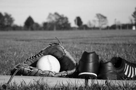 outfield: Baseball equipment