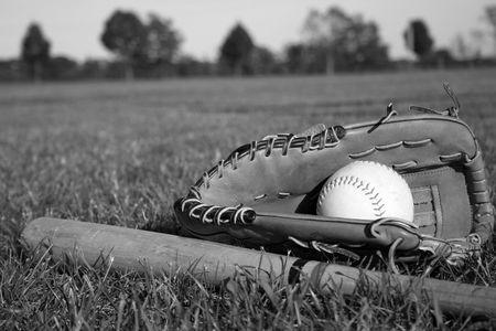 Baseball equipment photo