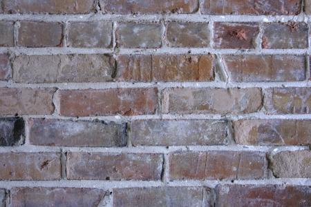Bricks and mortar form an abstract building pattern  Фото со стока