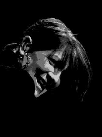 キャシー Mattea は、彼女の音楽の魔法を実行します。 写真素材 - 17227620
