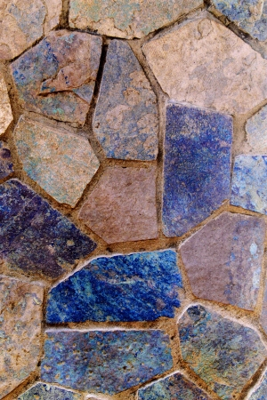 Flooring stones form an abstract pattern