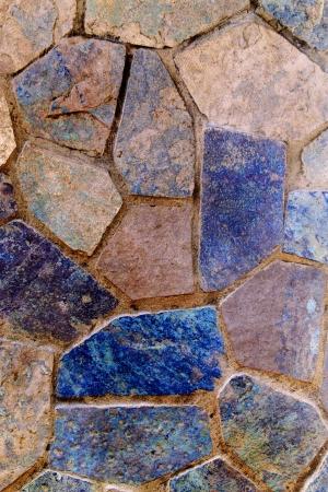 Piedras para pisos formar un patr�n abstracto