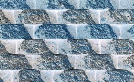 Bloques en bruto de la pared forman un patr�n de fondo