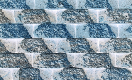 Rough wall blocks form a background pattern  Stock Photo