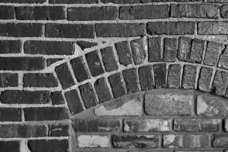 La construcci�n de ladrillos forman una trama de fondo