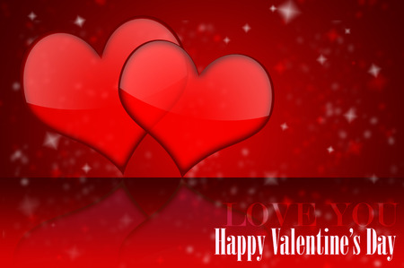 short phrase: Red toned Valentines