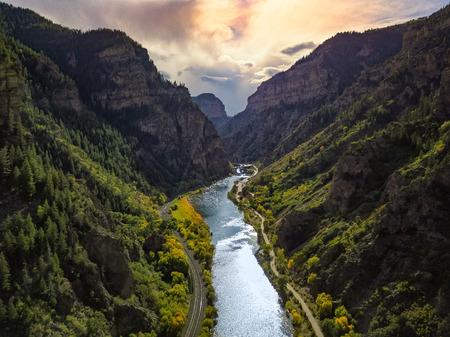 Colorado Mountains 免版税图像