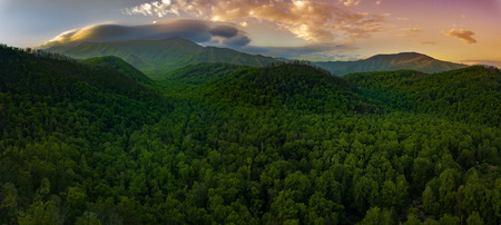 Smokey Mountain National Park Banque d'images