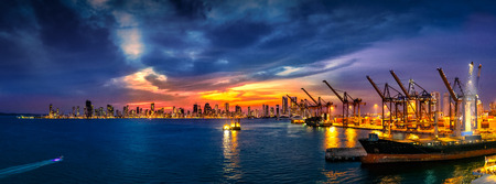Colombia port 写真素材