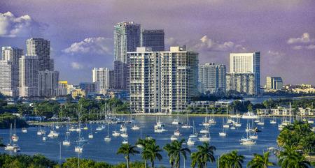 Miami port 免版税图像