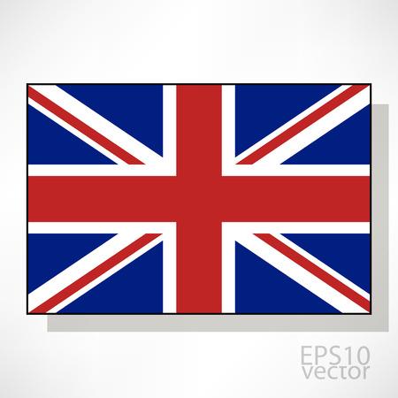 bandera de gran breta�a: Gran Breta�a pabell�n ilustraci�n Vectores