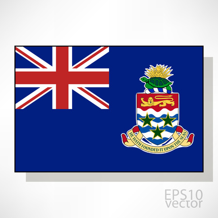 cayman: Cayman Islands flag illustration